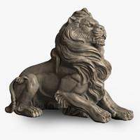 maya stone lion