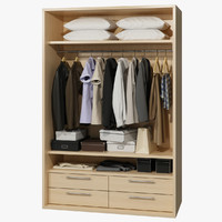 3ds max wardrobe clothes