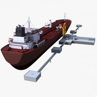 lwo tanker dock oil