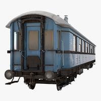 Old Passenger Train 2
