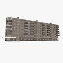 Row House 3D models