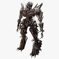 Robot Warrior - Evil One