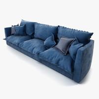 brest sofa baxter 3d max