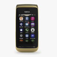 3d model nokia asha 308