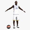 basketball player 3D models