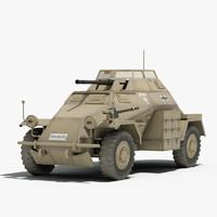 3d ww2 german sdkfz 222