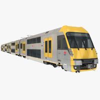 EMU City Rail A Set Passenger Train