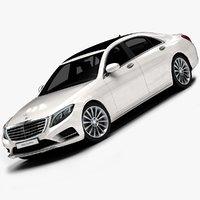 2014 Mercedes-Benz S-Class (Low Interior)