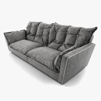 sorrento sofa baxter 3d model