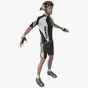 bicyclist 3D models