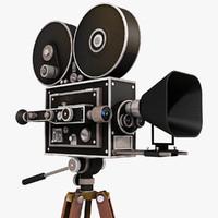 classic movie camera 3ds