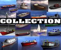 3d vessel ship tug model