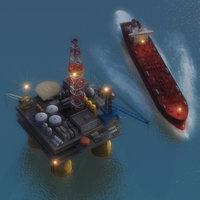 max oil platform tanker oilrig