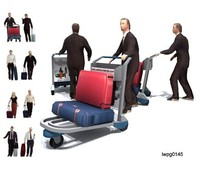 Airport people business