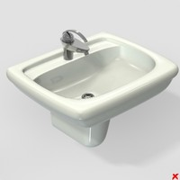 3ds sink basin