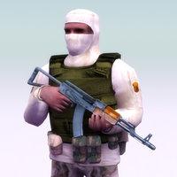 terrorist ak74 games 3ds