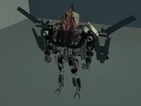 P51 WW2 Tranforming Robot.zip