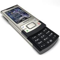 3d nokia 6500 slide mobile phone