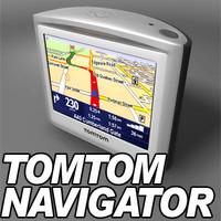 tomtom gps navigator 3d max