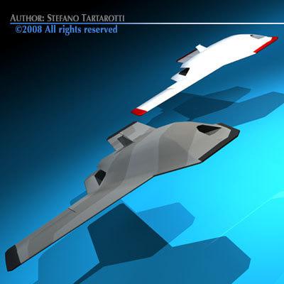 3d model unmanned vehicle
