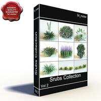 shrubs vol2 3d max