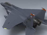 3d model f-15e strike eagle