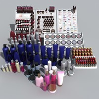 cosmetic product 3d x