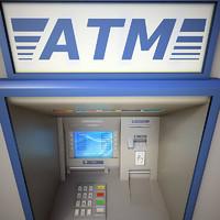 3ds max cash machine atm