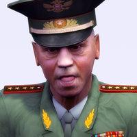 3d model of russian general officer
