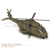 3ds nh-90 helicopter italian army