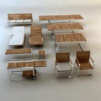 3d garden furniture design