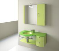 bathroom wash-basin leno ln-1025 3d model