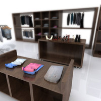 Cloths Shop Shelving
