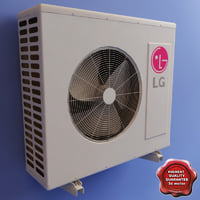 3d air conditioner lg