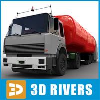 fueling tank 3d model