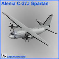 alenia c-27j spartan italian dxf