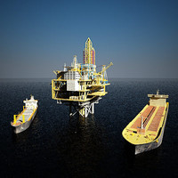 x compilant oil platform tanker ship