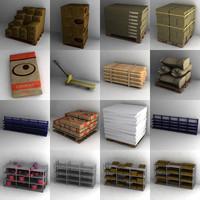 lightwave warehouse objects