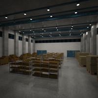 warehouse ware 3d model