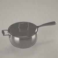 3d model of pan