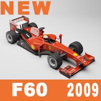 f1 f60 2009 3d model
