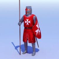 Crusader Hospitaller Knight