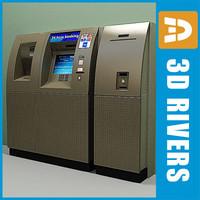 3d max automated bank minibank