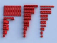3ds max lego building blocks