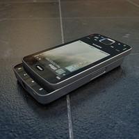 3d model nokia n96 cell phones