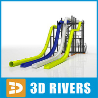 Water slides 01 by 3Drivers
