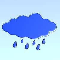 3d model of weather icon