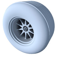 3d model tyre