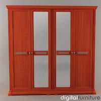 wardrobe digital 3d model