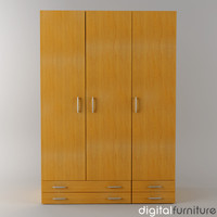 wardrobe digital 3d max